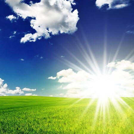 champ et soleil