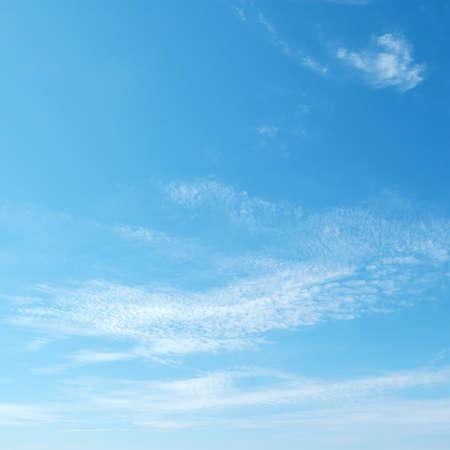 nimbi: blue sky Stock Photo