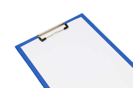 clipboard isolated on a white background                                     photo
