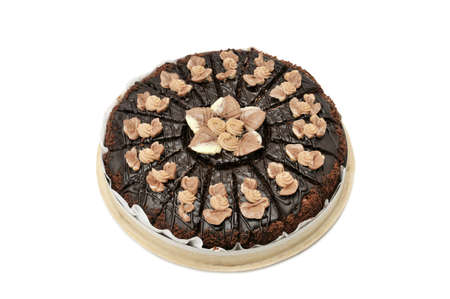 cake isolated on a white Stock Photo - 7139448
