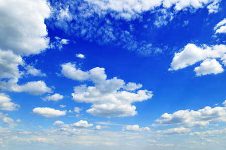 cloudiness: blue sky
