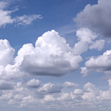 rainclouds: blue sky Stock Photo