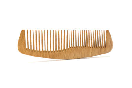comb for hair isolated on a white background                                    photo