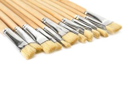 brushe isolated on a white background Stock Photo - 7865068