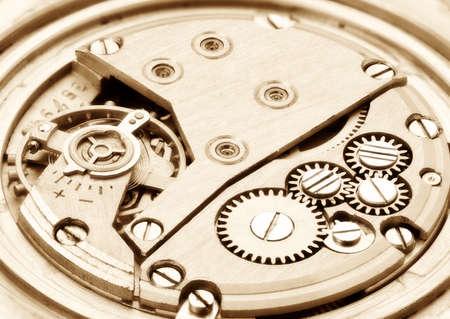 Clockwork. Focus on the whole image. Stock Photo - 8228405