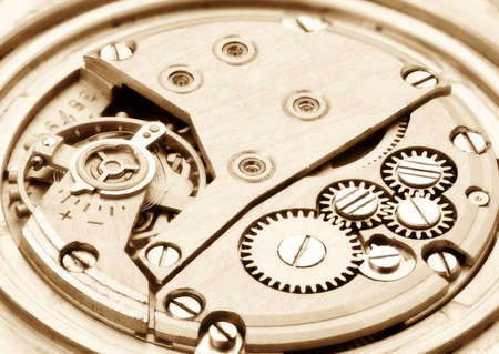 Clockwork. Focus on the whole image. Stock Photo - 8228405