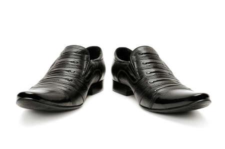 Man Schuhe auf einem wei?en Hintergrund