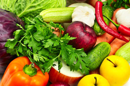 fruit and vegetables Stock Photo - 8768088