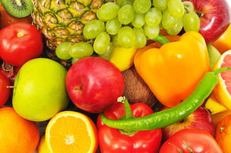 fruits and vegetables Stock Photo - 9359049
