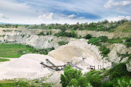 quarries: Limestone quarry