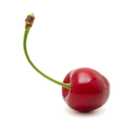 sweet cherry isolated on a white background                                     Stock Photo