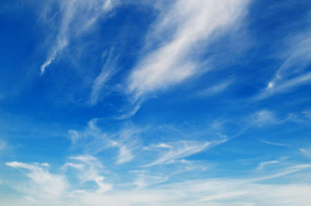 clouds in sky: blue sky