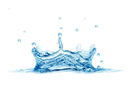 splash water isolated on a white background                                     Stock Photo - 10985536