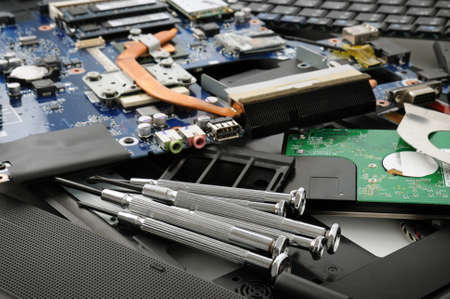 Repair of a computer Stock Photo - 12210743