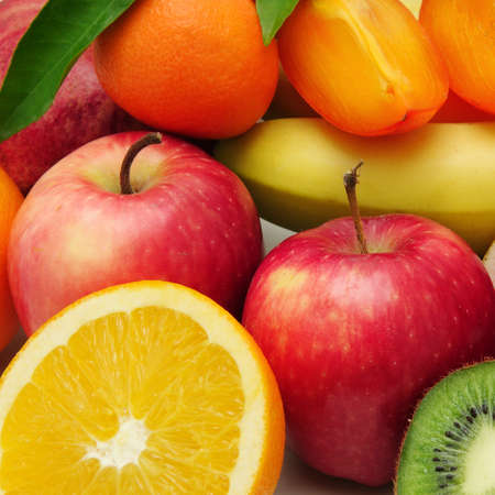fruit background                                     Stock Photo - 13610541