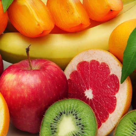 persimmon: fruto de fondo Foto de archivo