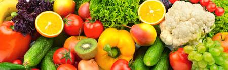 vegetables white background: fruits and vegetables background