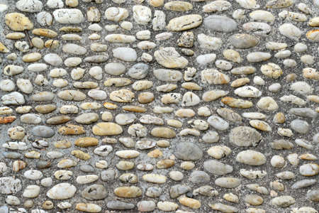 cobblestone street: Walking path lined with stones