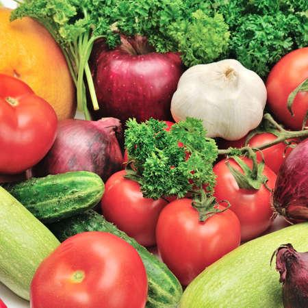 vegetables background                                     photo