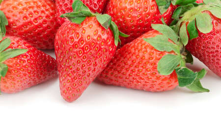 strawberry isolated on a white background Stock Photo - 20287968