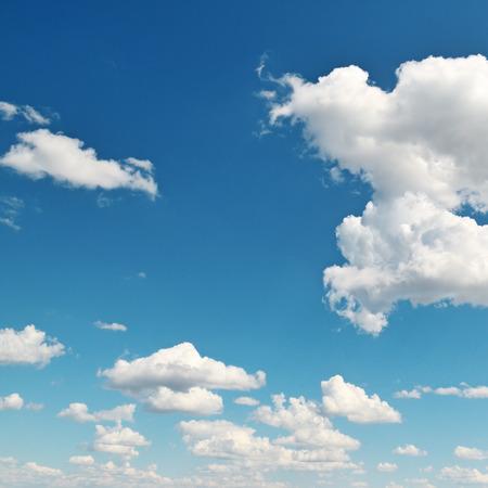 beautiful clouds in blue sky Foto de archivo