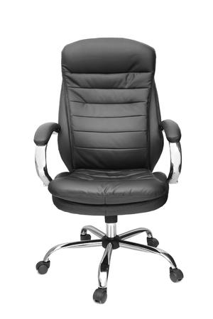 bureau stoel geïsoleerd op witte achtergrond  Stockfoto