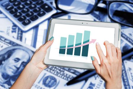 trends: business trends, development, economic growth Stock Photo