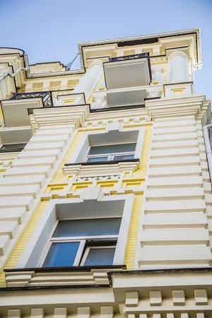 kiev: Architecture, background texture Kiev House
