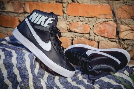 nike: KIEV, UKRAINE - August 2, 2015 Nike running shoes for men