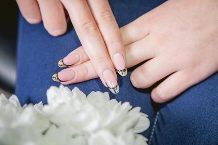 womens: Womens manicure, nails, beauty Stock Photo