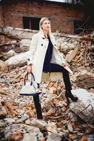 bata blanca: La chica en una bata blanca, una nueva colecci�n