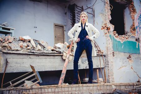 new collection: The girl in a white coat, a new collection