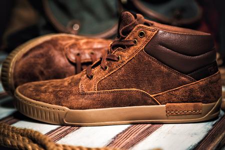 tienda de zapatos: Hombre tienda de zapatos de moda estilo de la zapatilla de deporte,