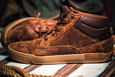 shoe store: Male sneaker style shoe store fashion,