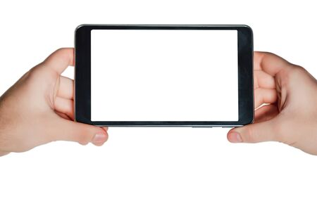 business ideas: tablet on a white background, business ideas, online sales, frame ideas