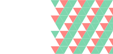 triangulation: Layout flyers, triangulation, background for advertising Stock Photo