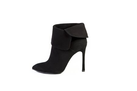 spring boots for women shoes on a white background, online shop