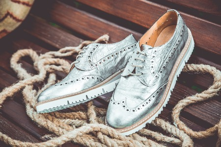 womens: silver womens shoes, vintage advertising photos ?