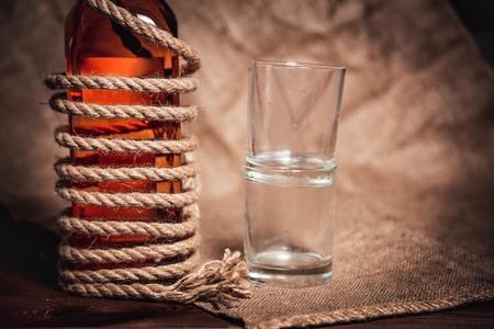 bourbon: alcohol bottle bourbon whiskey rum brandy