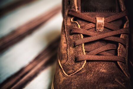 mens: Brown mens shoes, mens fashion style