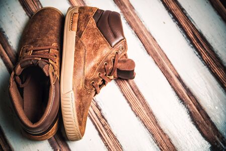men's: Brown mens shoes, mens fashion style