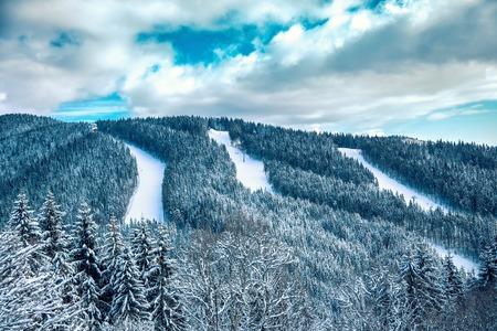 Carpathian mountains nature vacation mountain Stock Photo