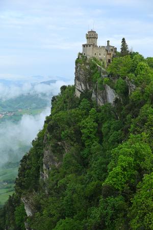 Rocca della Guaita, the most ancient fortress of San Marino, Italy