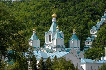xv century: Svyatogorsk Holy Assumption Monastery was founded in XV century, located in the Donetsk region, Ukraine.