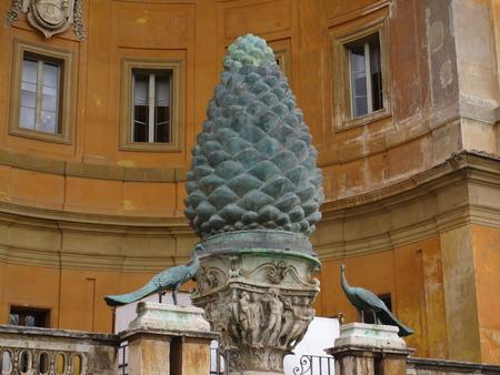 Die Hauptattraktion des Vatikans. Standard-Bild