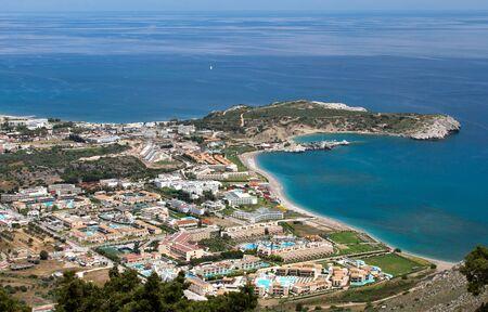 tsampika: Kolymbia in Rhodes island