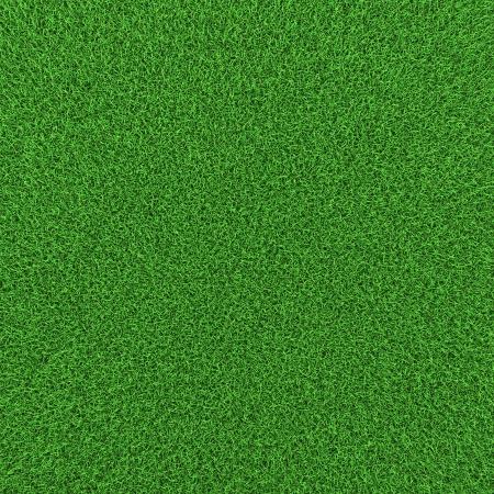 Green grass background texture, high resolution 3d render. Stock Photo