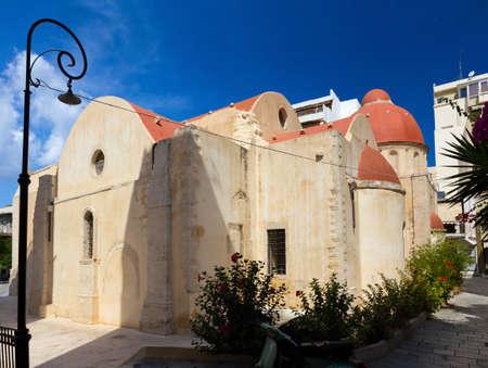 katherine: Saint Katherine basilica, Heraklion, Crete, Greece. Stock Photo