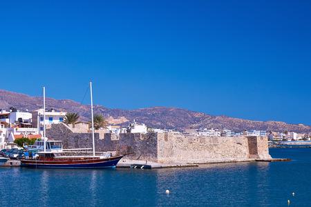 kreta: Kales Venetian fortress at Ierapetra in Crete, Greece.