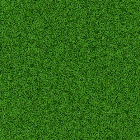녹색 축구 잔디 필드 원활한 배경 질감, 벡터 일러스트 레이 션입니다.